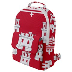Flag Of Aberdeen Flap Pocket Backpack (small)