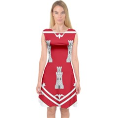 Shield Of The Arms Of Aberdeen Capsleeve Midi Dress by abbeyz71