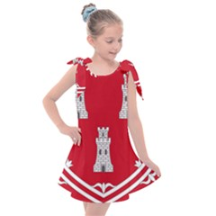 Shield Of The Arms Of Aberdeen Kids  Tie Up Tunic Dress by abbeyz71