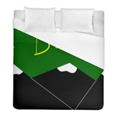 Flag Of Hunza  Duvet Cover (full/ Double Size) by abbeyz71