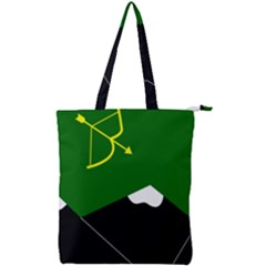 Flag Of Hunza  Double Zip Up Tote Bag by abbeyz71