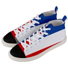 Flag Of Yugoslavia, 1918-1941 Men s Mid-top Canvas Sneakers by abbeyz71