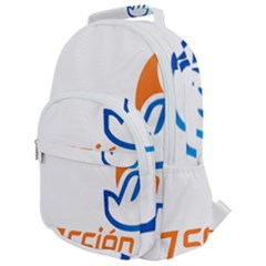 Logo Of Youth Wing Of National Action Party Of Mexico Rounded Multi Pocket Backpack by abbeyz71