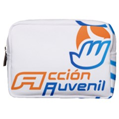 Logo Of Youth Wing Of National Action Party Of Mexico Make Up Pouch (medium)