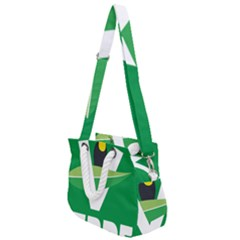 Logo Of Ecologist Green Party Of Mexico Rope Handles Shoulder Strap Bag