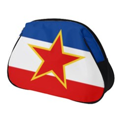 Civil Ensign Of Yugoslavia, 1950-1992 Full Print Accessory Pouch (small) by abbeyz71