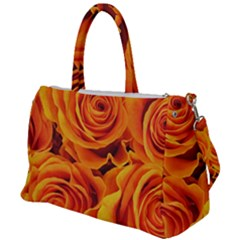 Flower Love Duffel Travel Bag