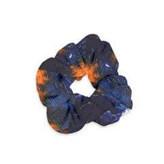 Falling Leaves Velvet Scrunchie by WILLBIRDWELL