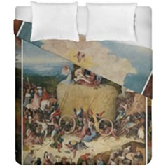 Heronimus Bosch The Haywagon 2 Duvet Cover Double Side (california King Size) by impacteesstreetwearthree