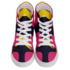 33sahara405 Women s Hi Top Skate Sneakers