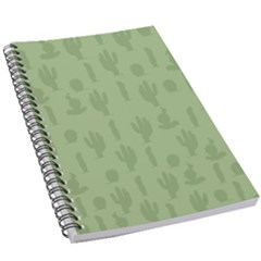 Cactus Pattern 5 5  X 8 5  Notebook by Valentinaart