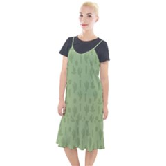 Cactus Pattern Camis Fishtail Dress by Valentinaart