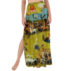 Hieronymus Bosch The Garden Of Earthly Delights (closeup) Maxi Chiffon Tie Up Sarong by impacteesstreetwearthree