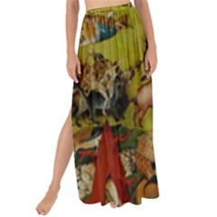 Hieronymus Bosch The Garden Of Earthly Delights (closeup) Hieronymus Bosch The Garden Of Earthly Delights (closeup) 3 Maxi Chiffon Tie Up Sarong by impacteesstreetwearthree