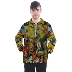 Hieronymus Bosch The Garden Of Earthly Delights (closeup) Hieronymus Bosch The Garden Of Earthly Delights (closeup) 3 Men s Half Zip Pullover by impacteesstreetwearthree