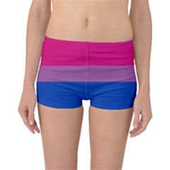 Bisexual Pride Flag Bi Lgbtq Flag Boyleg Bikini Bottoms by lgbtnation