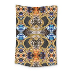 Luxury Abstract Design Small Tapestry by tarastyle