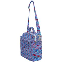 Floral Pattern Crossbody Day Bag