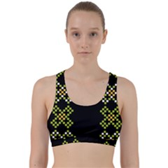 Hexxed Back Weave Sports Bra by WensdaiAmbrose