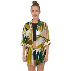 Abstract Brushstrokes Chiffon Kimono by JoneienLeahCollection