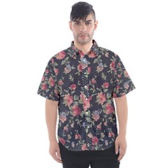 Planted A Rose Men s Short Sleeve Shirt