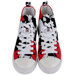 33sahara419 Women s Mid Top Canvas Sneakers