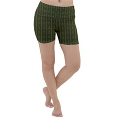 Vintage Wallpaper Vintage Lightweight Velour Yoga Shorts