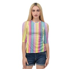 Watercolour Watercolor Background Quarter Sleeve Raglan Tee