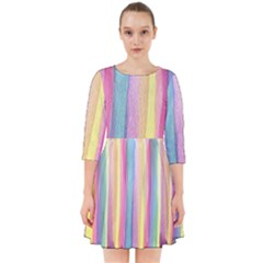 Watercolour Watercolor Background Smock Dress