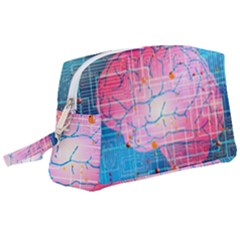 Evolution Artificial Intelligence Wristlet Pouch Bag (large)