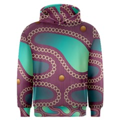 Background Pattern Non Seamless Men s Overhead Hoodie