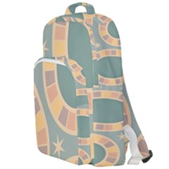 Background Pattern Non Seamless Double Compartment Backpack