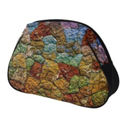 Texture Stone Structure Pattern Full Print Accessory Pouch (small)