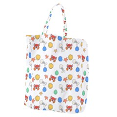 Crabs Pattern Giant Grocery Tote
