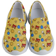 Crabs Pattern Kids  Lightweight Slip Ons by Valentinaart