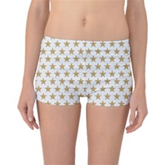 Gold Star Boyleg Bikini Bottoms by WensdaiAddamns