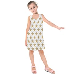 Gold Star Kids  Sleeveless Dress by WensdaiAddamns