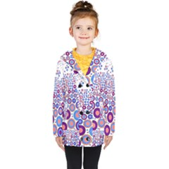 Zappwaits Circle Kids  Double Breasted Button Coat
