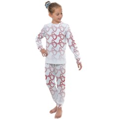 Zappwaits Forever Kids  Long Sleeve Set  by zappwaits