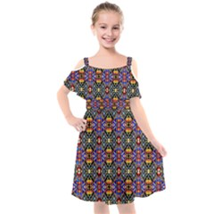 Rp 1 Kids  Cut Out Shoulders Chiffon Dress
