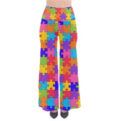 Jigsaw Rainbow So Vintage Palazzo Pants by TimelessFashion