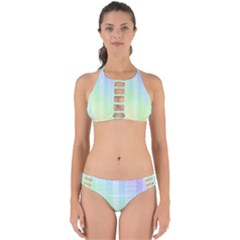 Lace On A Rainbow Perfectly Cut Out Bikini Set by TimelessFashion