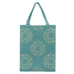 Floral Vintage Classic Tote Bag by TimelessFashion