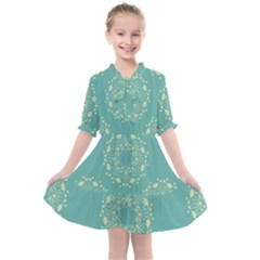 Floral Vintage Kids  All Frills Chiffon Dress by TimelessFashion