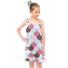 Fishy In Pink Kids  Overall Dress by TimelessFashion
