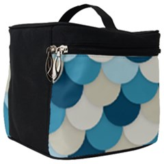 Fishy In Blue Make Up Travel Bag (big) by TimelessFashion