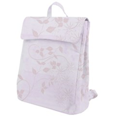 Floral Wedding Flap Top Backpack by TimelessFashion