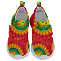 Mandala Dream Kids  Velcro No Lace Shoes by TimelessFashion