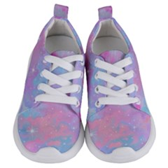 Pink And Blue Sensation Kids  Lightweight Sports Shoes