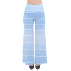 Pastel In Blue So Vintage Palazzo Pants by TimelessFashion
